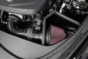 K N Carbon Fiber Cold Air Intake System W Shield For 2016 2017 Cts V 6 2l 50hp
