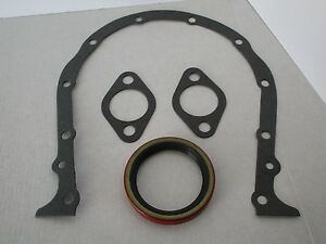 Big Block Chevy Gen4 Timing Cover Gasket Set With Seal Bbc 396 427 454 502 9081