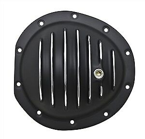 Black Aluminum Differential Front Cover Gm 10 Bolt Truck 4x4 Chevy Gmc Gm 8