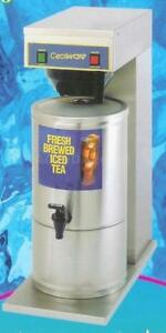 Cecilware Fresh Brewed Iced Tea Machine Ftc 5 With S 5 Dispenser 5 Gallon