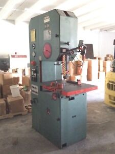 Dake Johnson Vertical Band Saw V 24