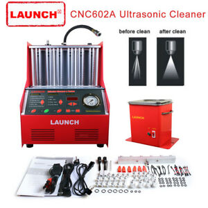 Us Stock Launch Cnc602a Automotive Fuel Injector Cleaner Test 110v Transformer