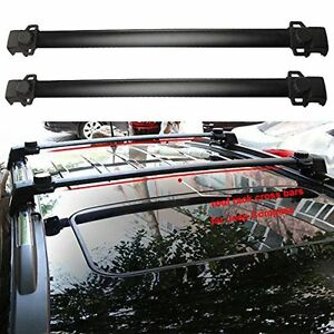 2x Car Top Cargo Luggage Roof Rack Cross Bar Carrier Fit 2011 2016 Jeep Compass