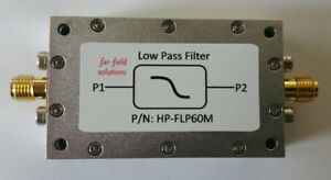 Rf Low Pass Filter Fc 60mhz Vhf 100w Cw Power