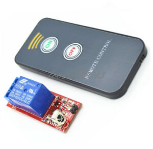 1channel Infrared Switch Relay Driving Module Board 5v Active Remote Controller