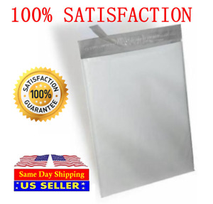 100 14 5x19 100 24x24 Poly Mailers Self Sealing Shipping Envelope Bags 2 35ml