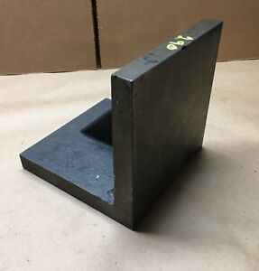 Obishi Precision Right Angle Plate 6 X 6 X 6 Made In Japan Clean