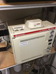Shimadzu Gc 8a Tcd Gas Chromatograph Gc Several Available