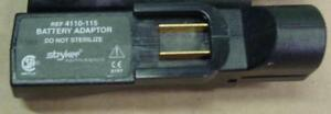 Stryker 4110 115 Battery Adaptor Charger 4115 Batteries Orthopedic System 2000