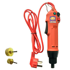 Hand held Electric Screw Capper Manual Bottle Capping Machine 110v Us Stock