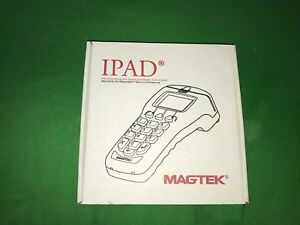 New Magtek 30050400 Ipad Pin Entry Hid Keypad Secure Msr Sig Cature Device