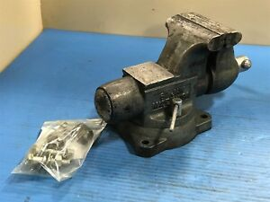 Used Wilton 1760 Swivel Bullet Bench Vise Anvil 6 Jaw 3f
