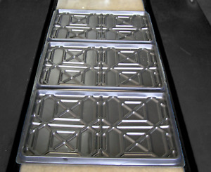 Plastic Drip Tray For Storage Parking 4 Post Car Lift Set Of 3