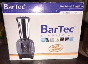 Bartec Commercial Blender Model Btc 329ss 750w 1hp Motor