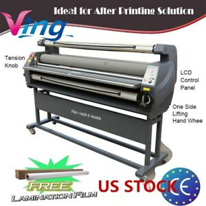 Us Stock 110v 63 Ving Full Auto Luxury Heat Assisted Wide Format Cold Laminator