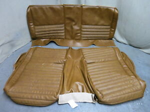 1971 Mustang Mach 1 Rear Bench Seat Cover Upholstery Set Reproduction Ginger