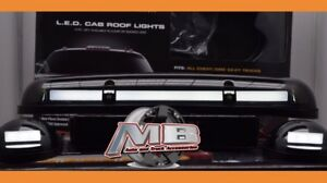02 03 04 05 06 07 Chevrolet Silverado 2500 3500 Smoked Tinted Led Cab Lights New