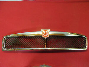 Mgb Grille Assembly Brand New Chrome Plated Brass 1973 74 Fits Other Years Too