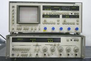 Anritsu Me538m Microwave Analyzer Receiver And Transmitter