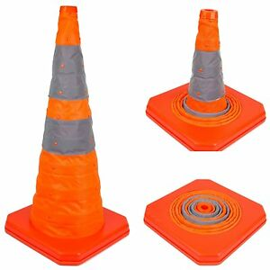 28 Collapsible Safety Cones Portable Traffic Emergency Cone conecc28