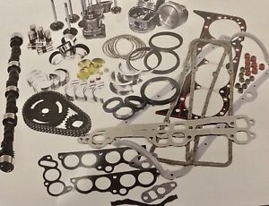 Chevy Stage 2 Cam 383 Sbc Stroker Engine Kit Hypereutectic Flat Top Pistons