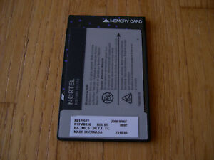 Nortel Norstar Mics Modular Ics R7 1 Software Card Free Shipping