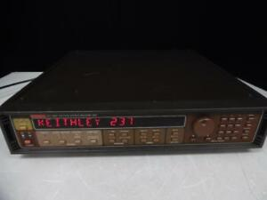 Keithley 237 High Voltage Source Measure Unit For Parts Or Repair