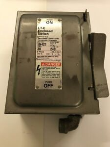 Used Ite Enclosed Switch Jn421 free Shipping