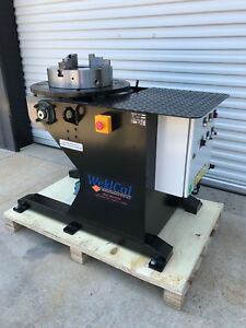 New Profax Wp 1000 1000lb Welding Positioner W 16 Chuck