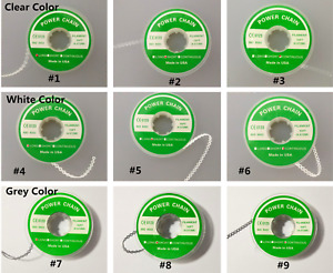 Orthodontic Power Chain Elastic Band Long Short Continuous 3 Color 15ft Dental