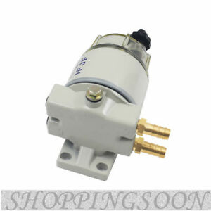 New Diesel Fuel Filter Water Separator For R12t Marine Spin On Housing 120at