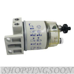 Easy To Install White Diesel Fuel Filter Water Separator For R12t