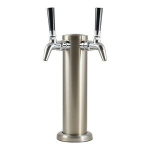 Double Stainless Steel Draft Tower With Ss Intertap Faucets