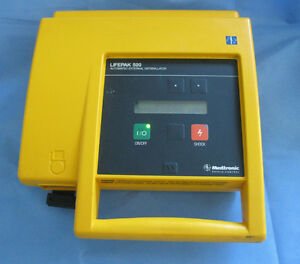 Medtronic Physio Control Lifepak 500 Biphasic With Battery 30 Day Warranty