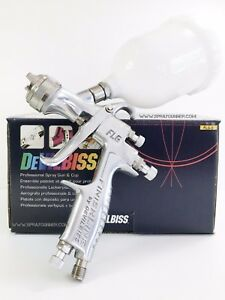 Paint Spray Gun Devilbiss Flg 5 1 4mm With 560cc Plastic Cup New From Us Seller