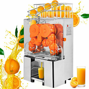 Commercial Electric Orange Squeezer Juice Tea houses Stainless Dirnk Shop Auto