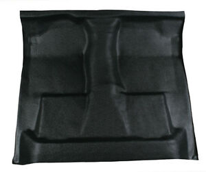 Black Vinyl Floor Mat Replaces Carpet 98 02 Dodge Ram 2500 Ext Quad Cab 4 Door