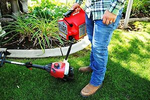 Red Fuel Can 2 2 Gallon Gas Tank 1 Rotating Gasoline Spout Cap Car Mower Engine
