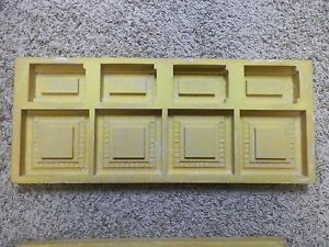 Rubber Mold Concrete Veneer Form Stone Plaster Tile Construction 4
