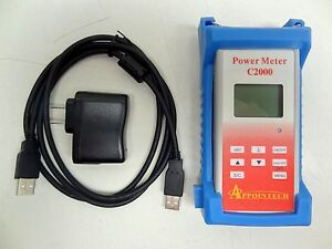 Appointech C2000 Power Meter Fiber Optic Calibration Transmission new Free S