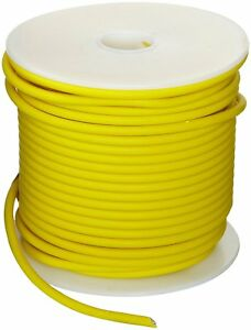 Gxl Automotive Copper Wire Yellow 12 Awg 0 080 Diameter 1000 Length