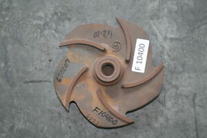 Goulds 3196mtx Pump Impeller 1x2 10 076797 1013 Iron
