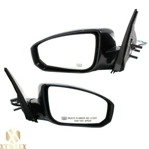 Left right Side Power Heated Mirror Assembly For 04 08 Nissan Maxima