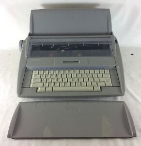 Brother Sx 4000 Electronic Typewriter Working With Cover Type Writer Tested