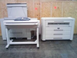 Xerox 510dp Wide Format Printer W Accxes Controller And Scanner