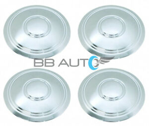 Set Of 4 Chevrolet Corvette Camaro Nova Monte Carlo Rally Wheel Hub Center Caps