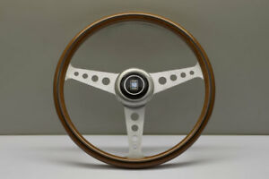 Nardi Nd Classic 360mm Wood Polished Holes Spoke Steering Wheel 5061 36 6300