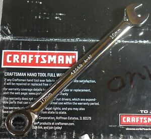 Brand New Craftsman Combination Ratcheting Wrench Metric Sae Choose Any Size