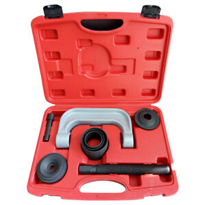 U Joint C Frame Press Ball Joint Service Auto Tool Kit Black 3 In 1 W Manual