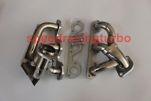 Exhaust Header For Jeep Wrangler Jk 07 2011 3 8l V6 Stainless Manifold W Gaskst